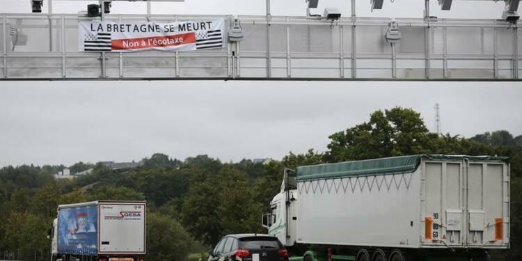 Les Français pour la suspension de l'écotaxe, selon Opinionway