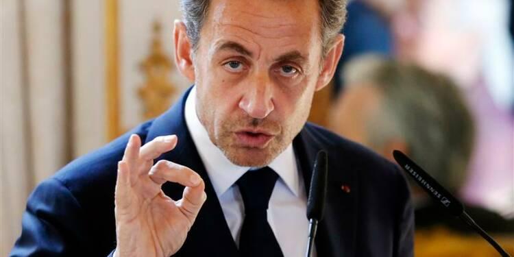 Sarkozy assure qu'il ne rejoindra pas Depardieu en Belgique