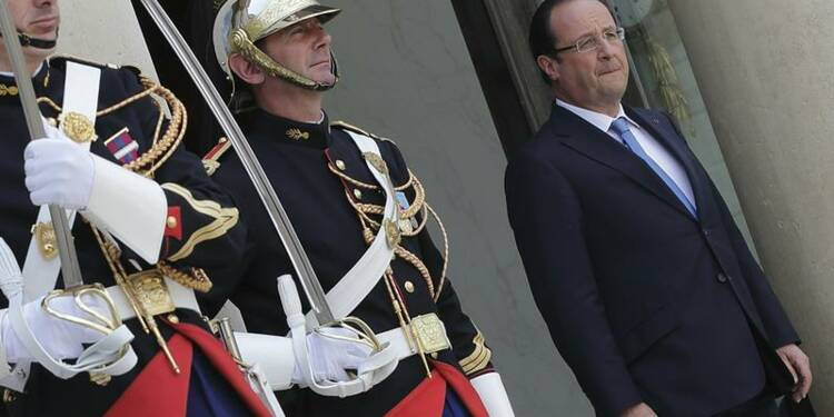 François Hollande regagne un point dans le baromètre Ifop-JDD