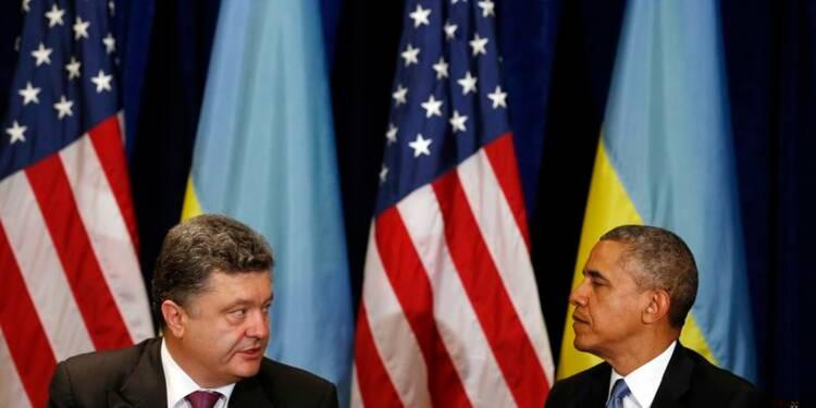 Soutien appuyé de Barack Obama au nouveau président ukrainien
