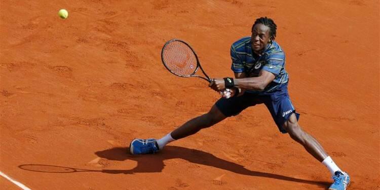 Roland-Garros: Gaël Monfils surmonte l'obstacle Ernests Gulbis