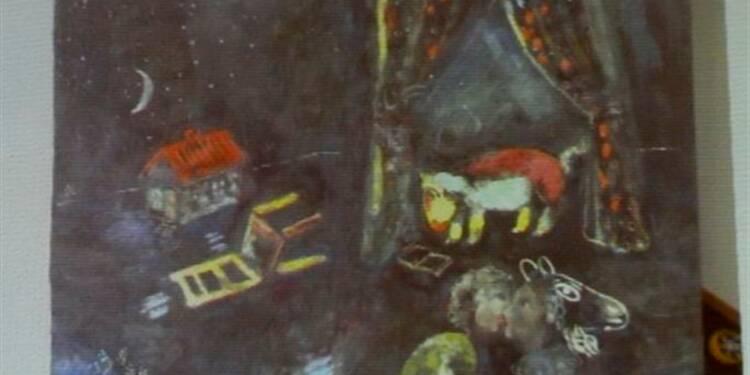 Des oeuvres inconnues de Chagall parmi les toiles de Munich