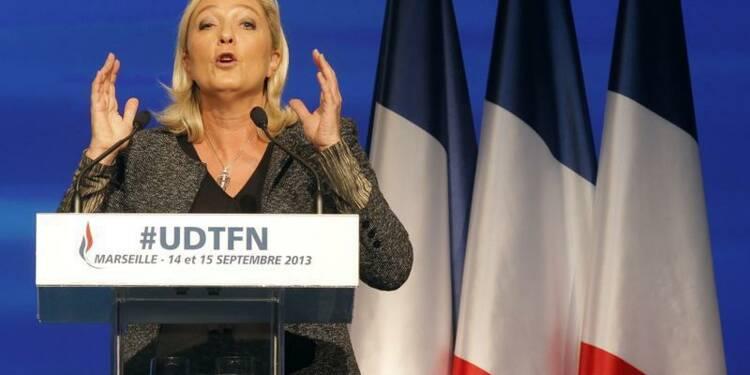Marine Le Pen contre une taxe écologique