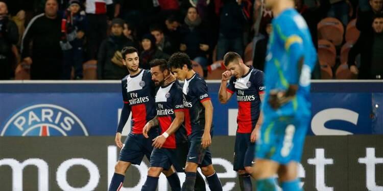 Ligue 1: le PSG bat Valenciennes et fait tourner