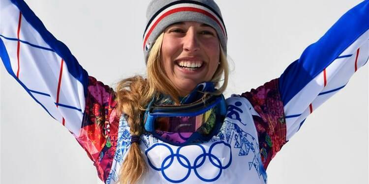 JO: la Française Chloé Trespeuch en bronze en snowboard cross