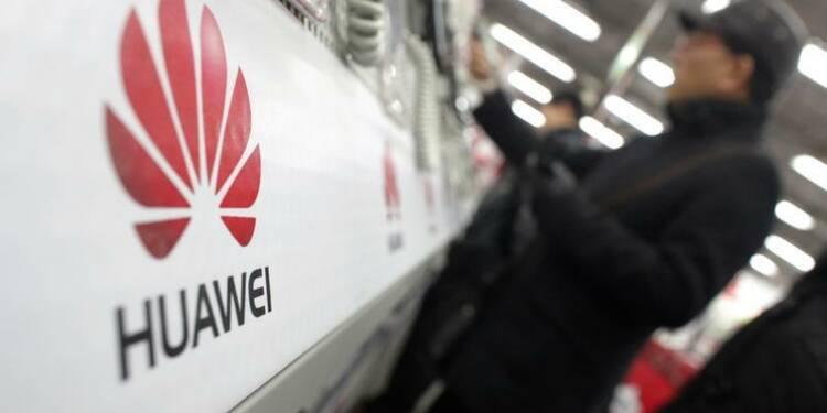 Huawei prévoit une croissance annuelle de 10% des ventes d'équipements télécoms pendant 5 ans
