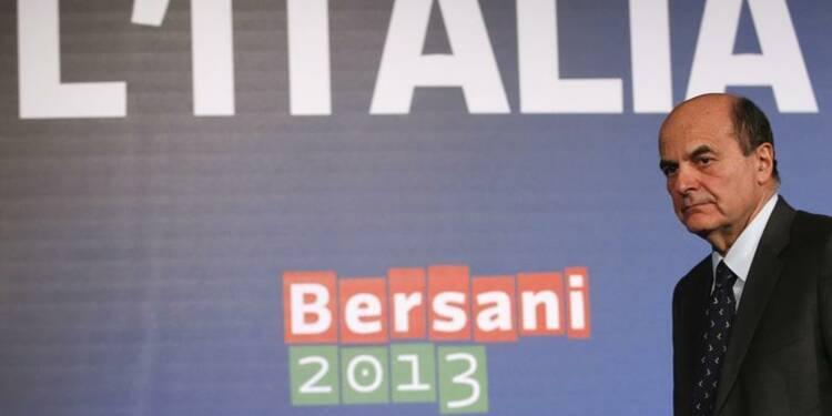 Pier Luigi Bersani exclut une coalition avec la droite en Italie