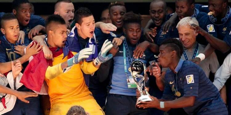 Football: la France remporte la Coupe du monde des -20 ans