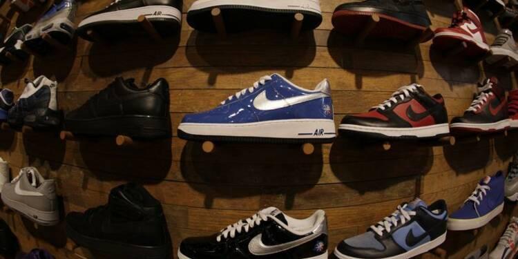 Bénéfice trimestriel meilleur qu'attendu pour Nike