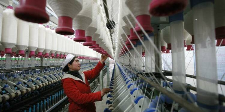 Rebond de l'indice PMI HSBC en Chine