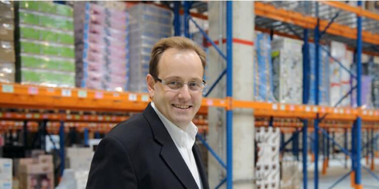 Xavier Garambois, directeur général d'Amazon.fr, a rendu le sourire au premier magasin en ligne de France