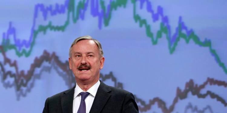Bruxelles juge faible le risque de déflation dans la zone euro