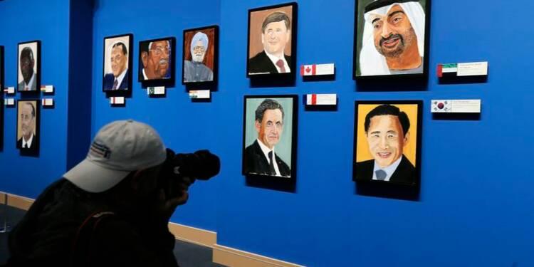 George W. Bush expose ses portraits des grands de son monde