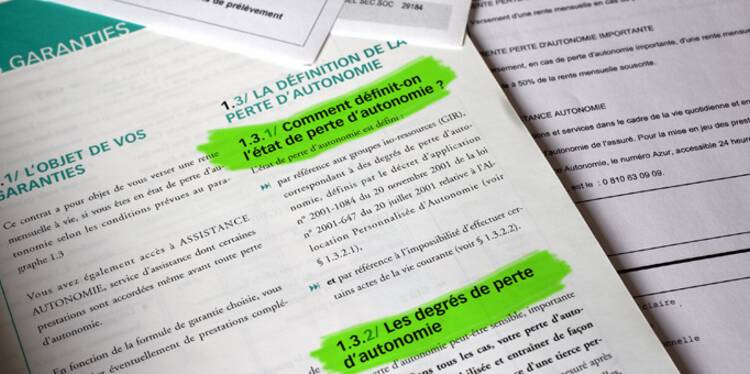 Assurance dépendance : les contrats à éviter
