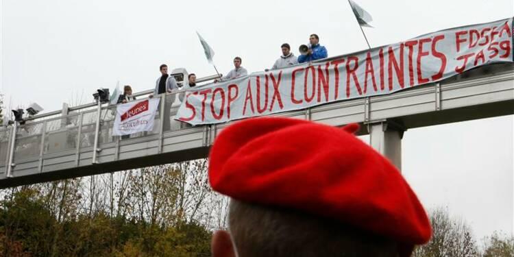 Les Français très partagés sur l'écotaxe