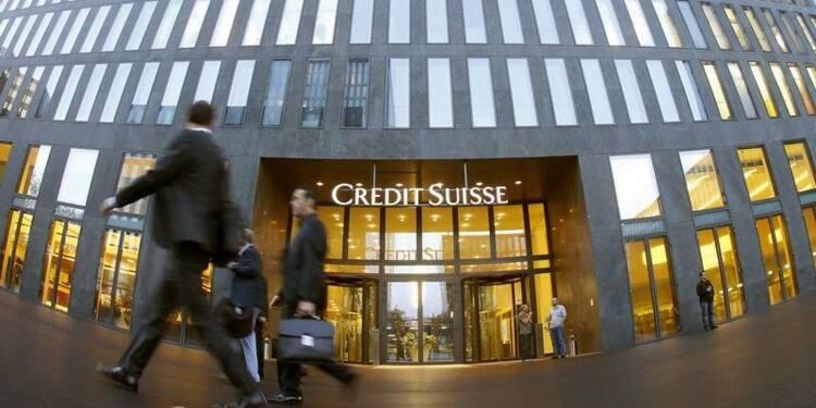 Credit Suisse pourrait supprimer jusqu'à 500 postes