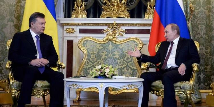 Moscou concrétise son soutien à Viktor Ianoukovitch