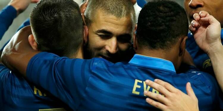 Football: l'équipe de France écrase l'Australie 6-0 en amical