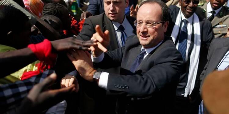 François Hollande estime que le combat n'est pas terminé au Mali