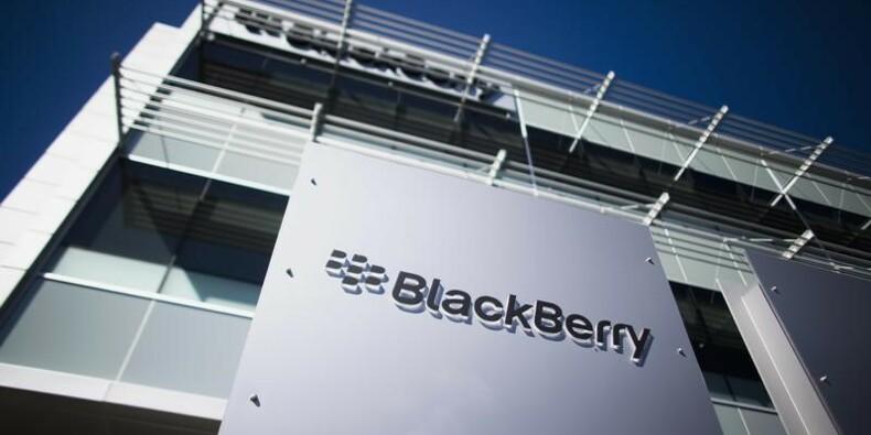 Une perte ajustée moins élevée que prévu pour BlackBerry