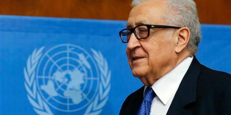 Brahimi présente des excuses aux Syriens pour l'impasse à Genève