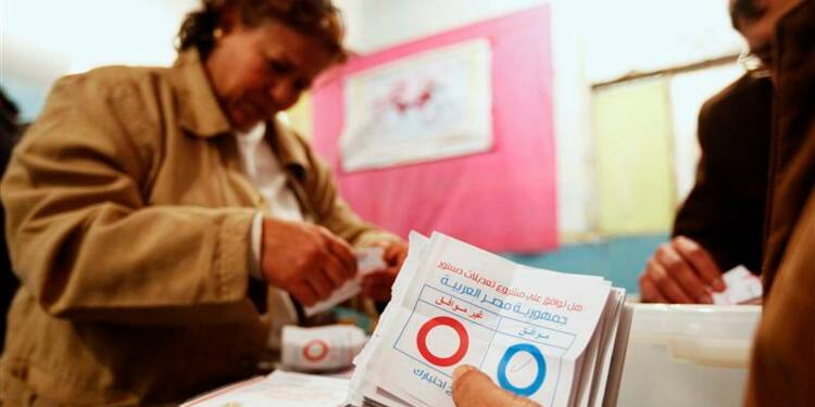 """Fin du référendum constitutionnel en Egypte, large """"oui"""" attendu"""