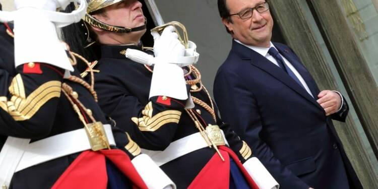 Légère remontée de François Hollande dans un sondage OpinionWay