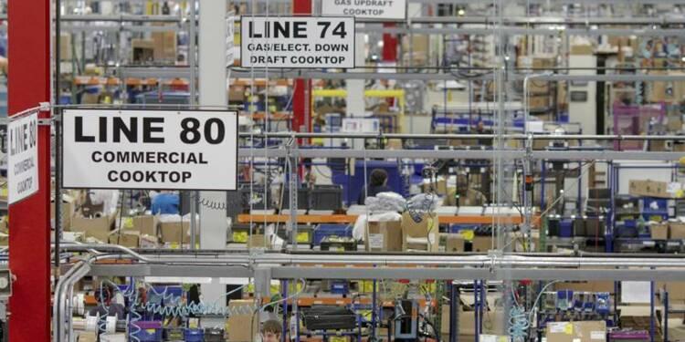 Léger ralentissement de la croissance dans l'industrie aux USA