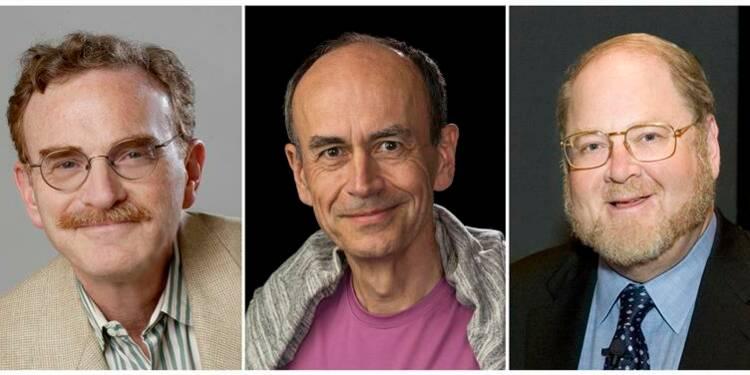 Le Nobel de médecine à deux Américains et à un Allemand