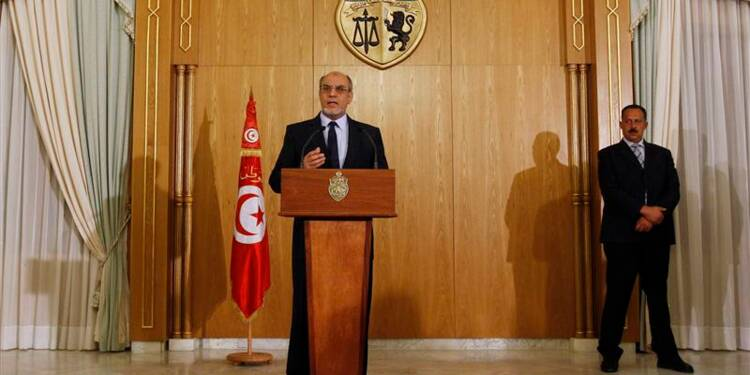 Démission du Premier ministre tunisien Hamadi Jebali