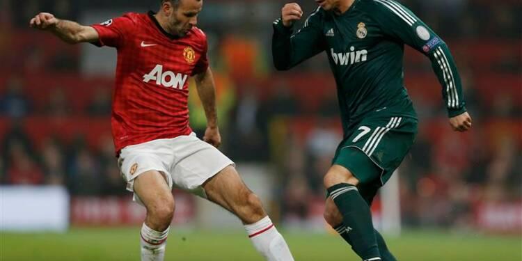Ligue des champions: le Real renverse United et passe en quarts