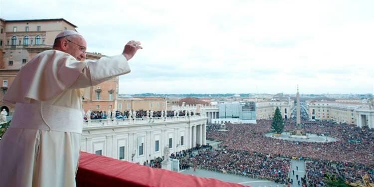 Le pape invite chacun à oeuvrer pour la paix