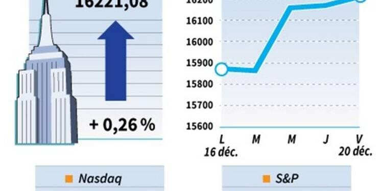 Wall Street finit en hausse grâce à la révision du PIB américain