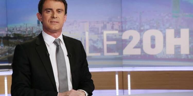 """Manuel Valls sur TF1 pour parler du """"difficile"""" scrutin européen"""
