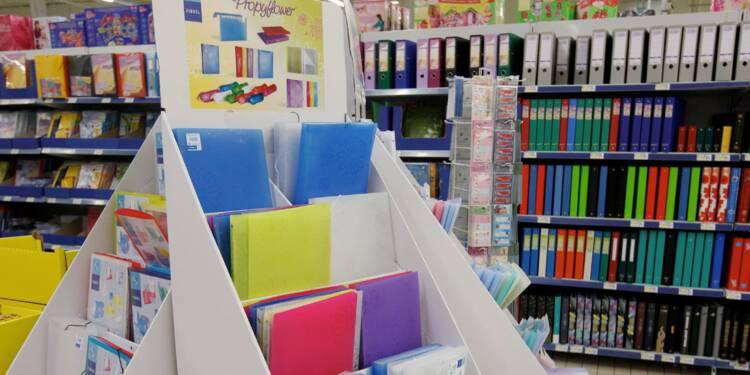 Les ventes de fournitures scolaires en forte baisse en juillet
