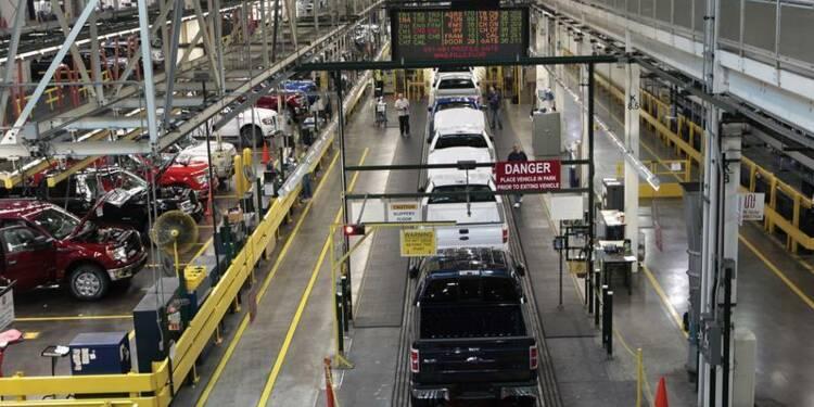 La production industrielle américaine augmente plus que prévu