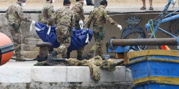 Les secours ont récupéré jusqu'ici 194 corps à Lampedusa