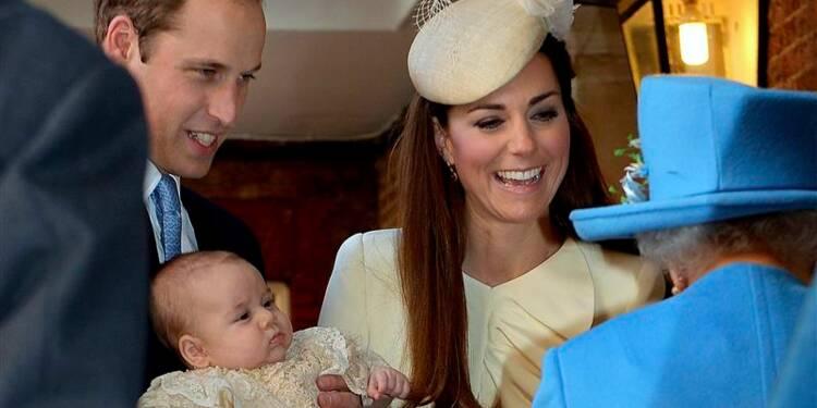 Baptême en petit comité à Londres pour le prince George