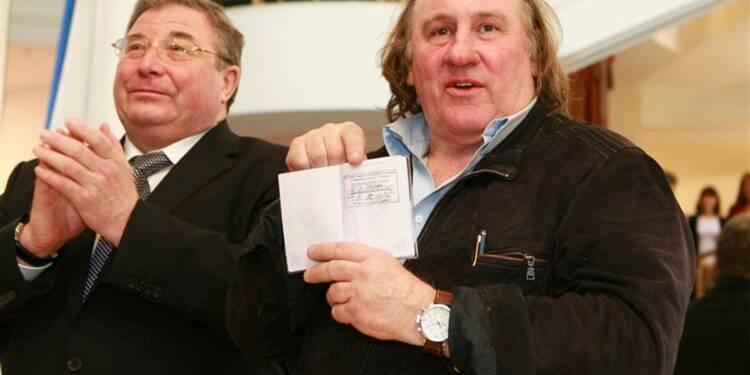 Gérard Depardieu devient officiellement résident de Mordovie