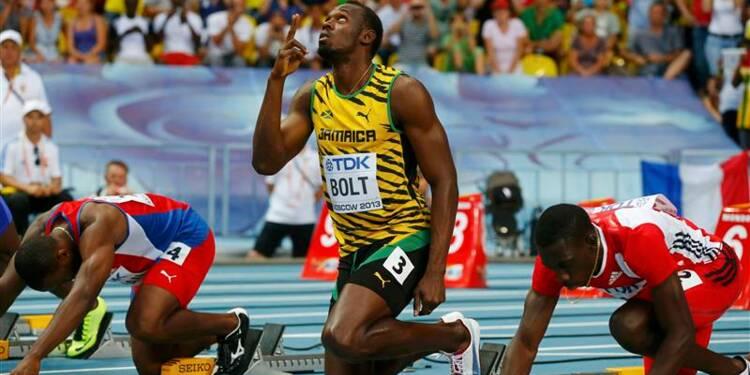 Athlétisme: Farah brille, Bolt dans les starting-blocks