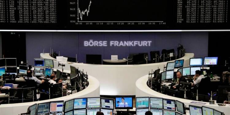 Les Bourses européennes en légère hausse à la mi-journée