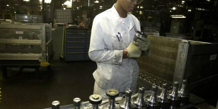 L'indice ISM manufacturier américain à un plus haut de deux ans
