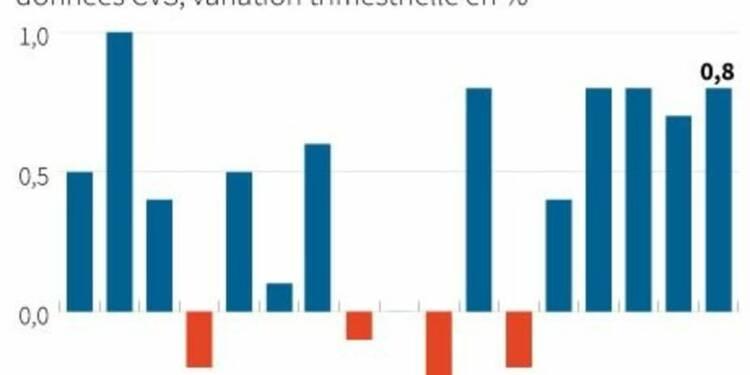 La croissance en Grande-Bretagne déçoit un peu au 1er trimestre