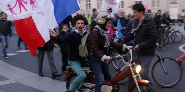 Le mariage gay pas du tout rose pour Hollande