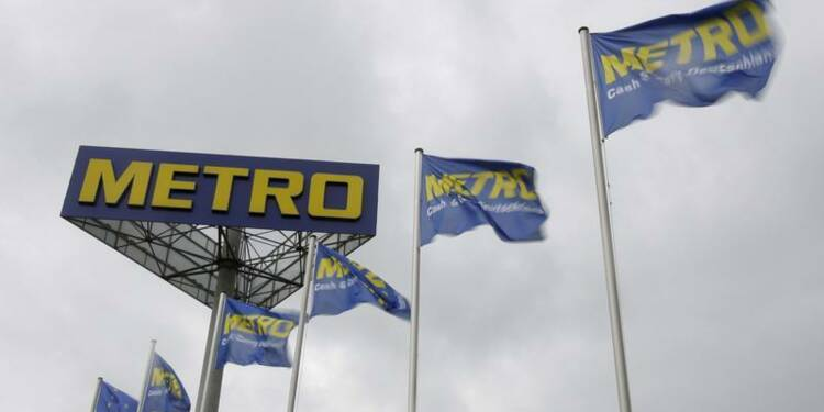 Tassement du bénéfice trimestriel de Metro