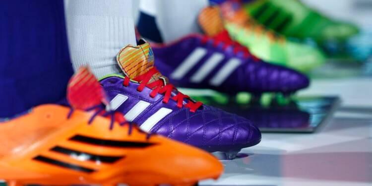 Adidas pas sûr d'atteindre tous ses objectifs pour 2015
