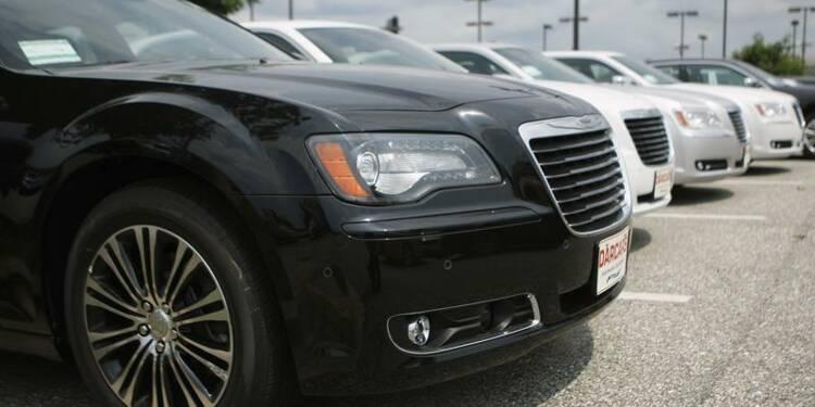 Forte baisse du bénéfice trimestriel de Chrysler