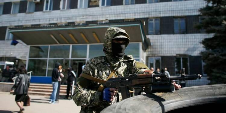 Les séparatistes de l'Est ukrainien gagnent du terrain