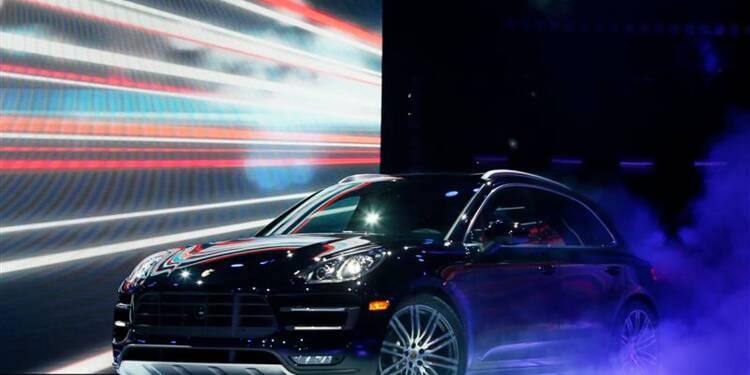 Porsche vise des ventes record en 2014 grâce au Macan