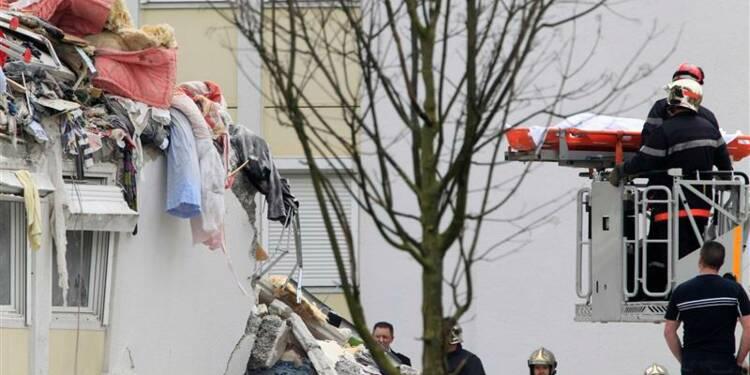 Deux morts, 9 blessés dans l'effondrement d'un immeuble à Reims